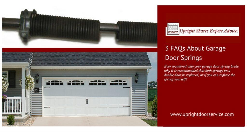 FAQs about garage door springs, Durham Region On