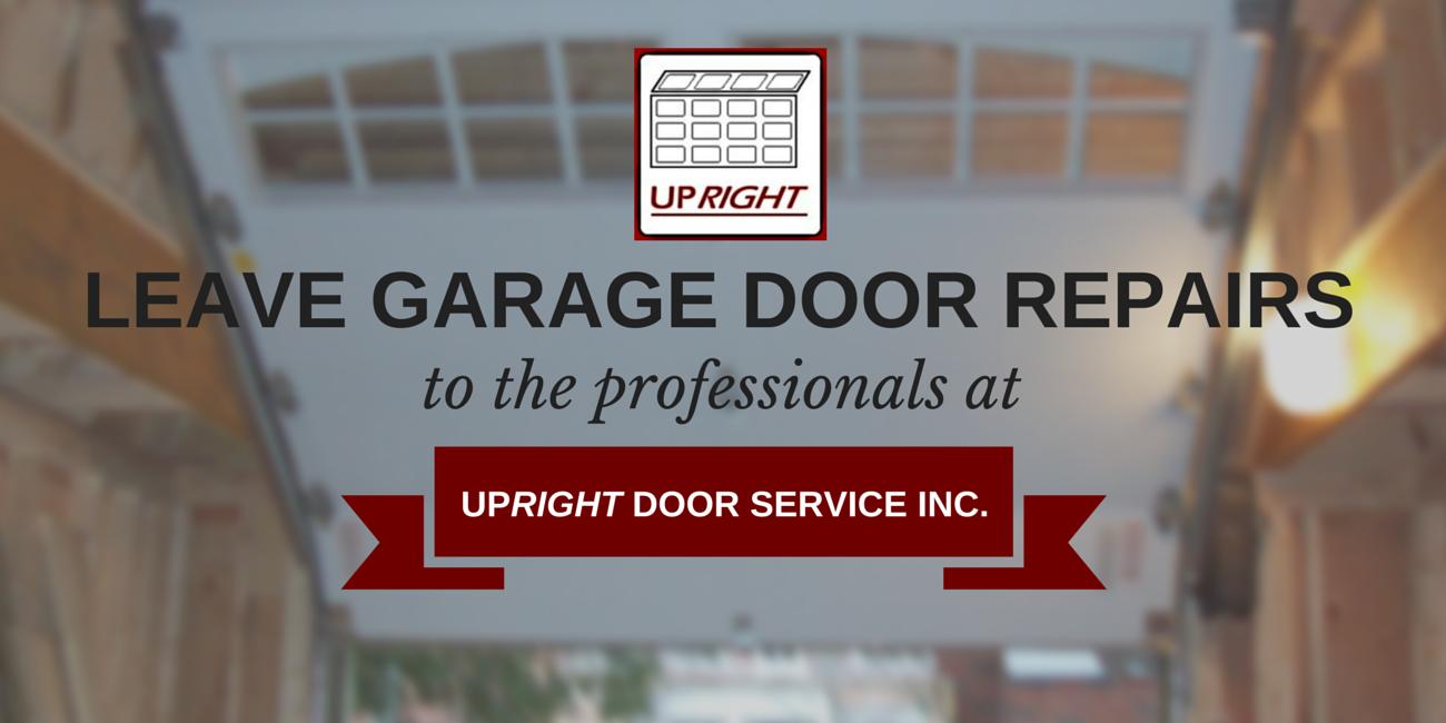 Leave Garage Door Repairs to Professionals, Uxbridge ON