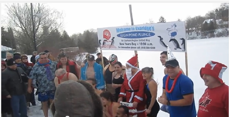 Polar Plunge 2013 Uxbridge ON