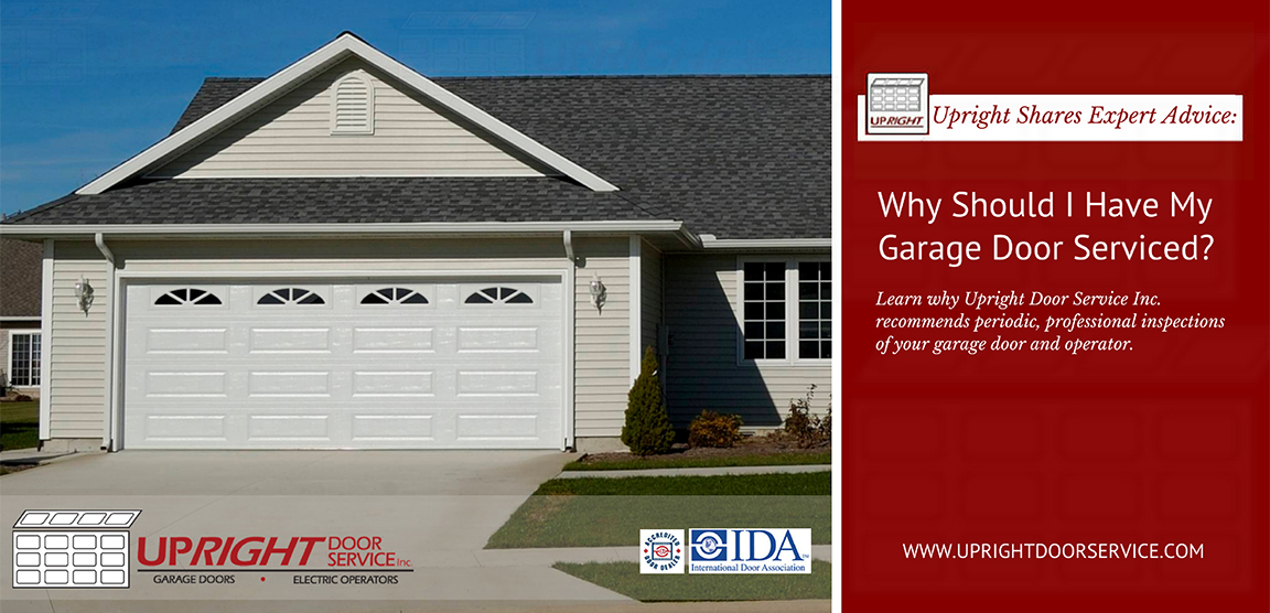 Why should I have my garage door serviced - Uxbridge Ontario